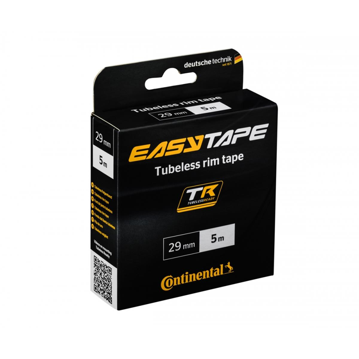 Continental Tubeless Felgenband Easy Tape 29 mm x 5 m
