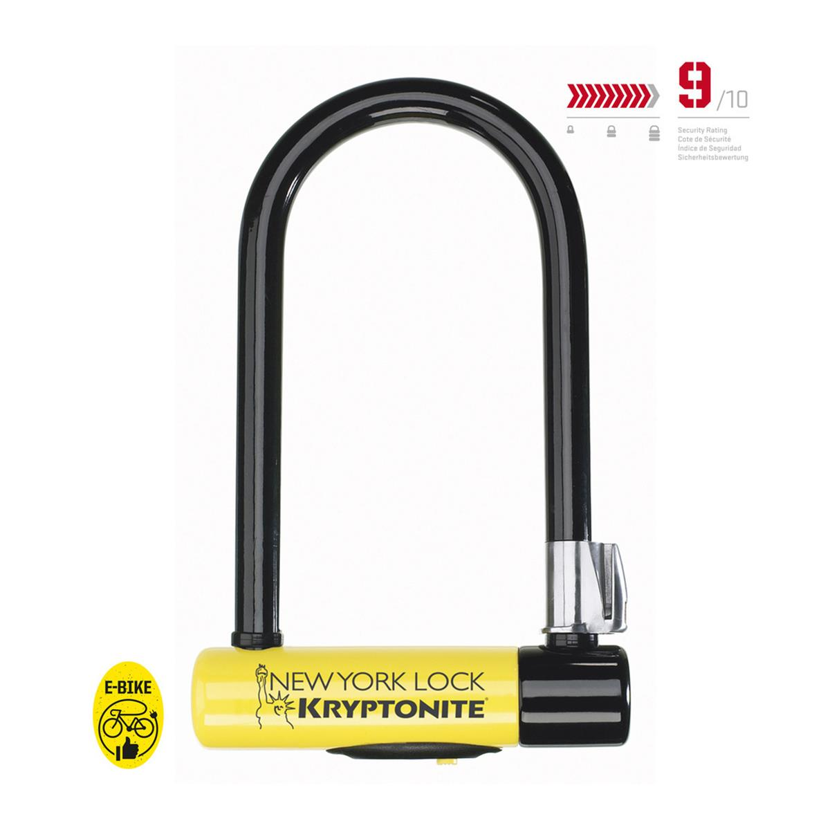 Kryptonite Bügelschloss New York Lock Standard Lock Standard