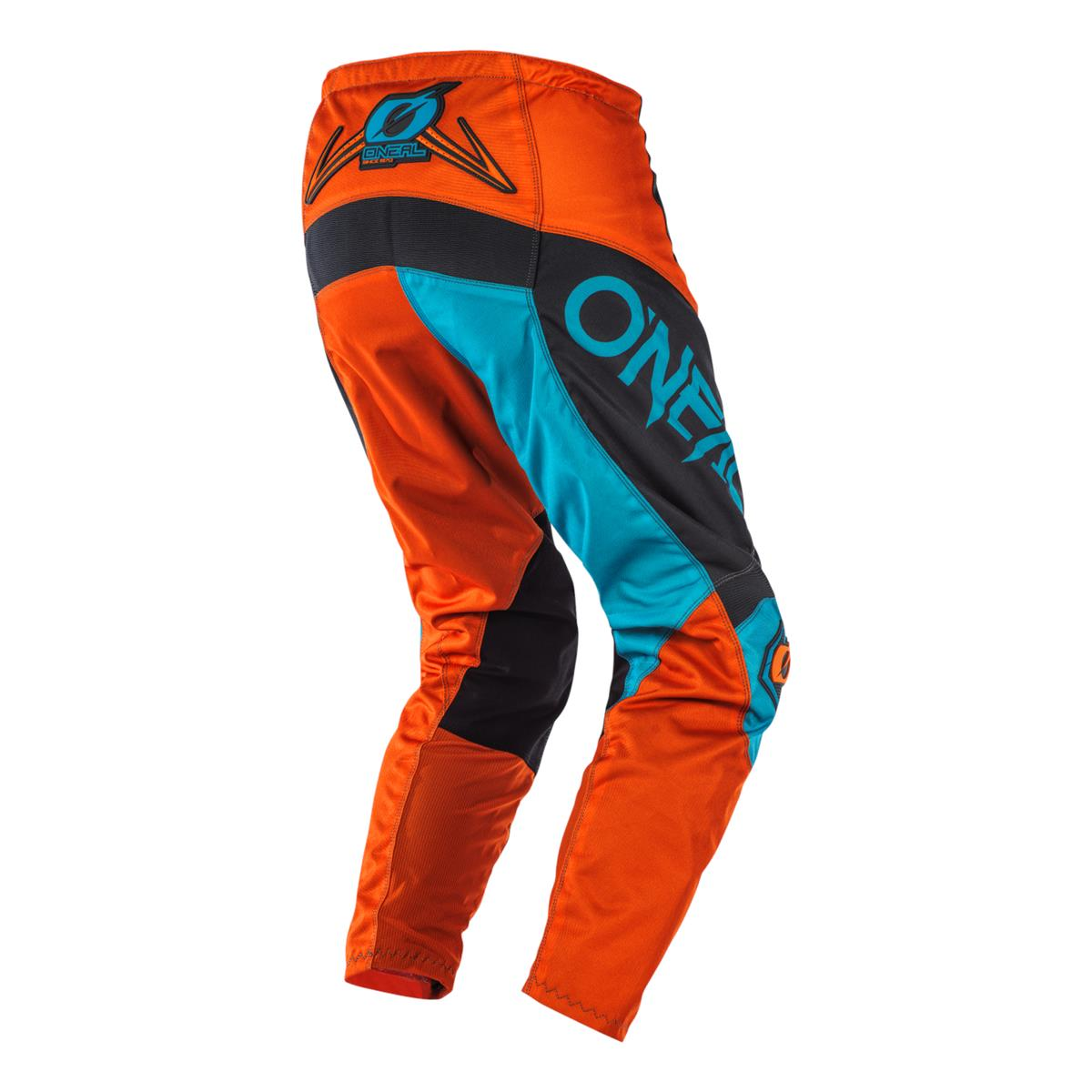 ONeal Mens Element Factor Motocross Jersey /& Pants Combo Gray//Orange//Blue