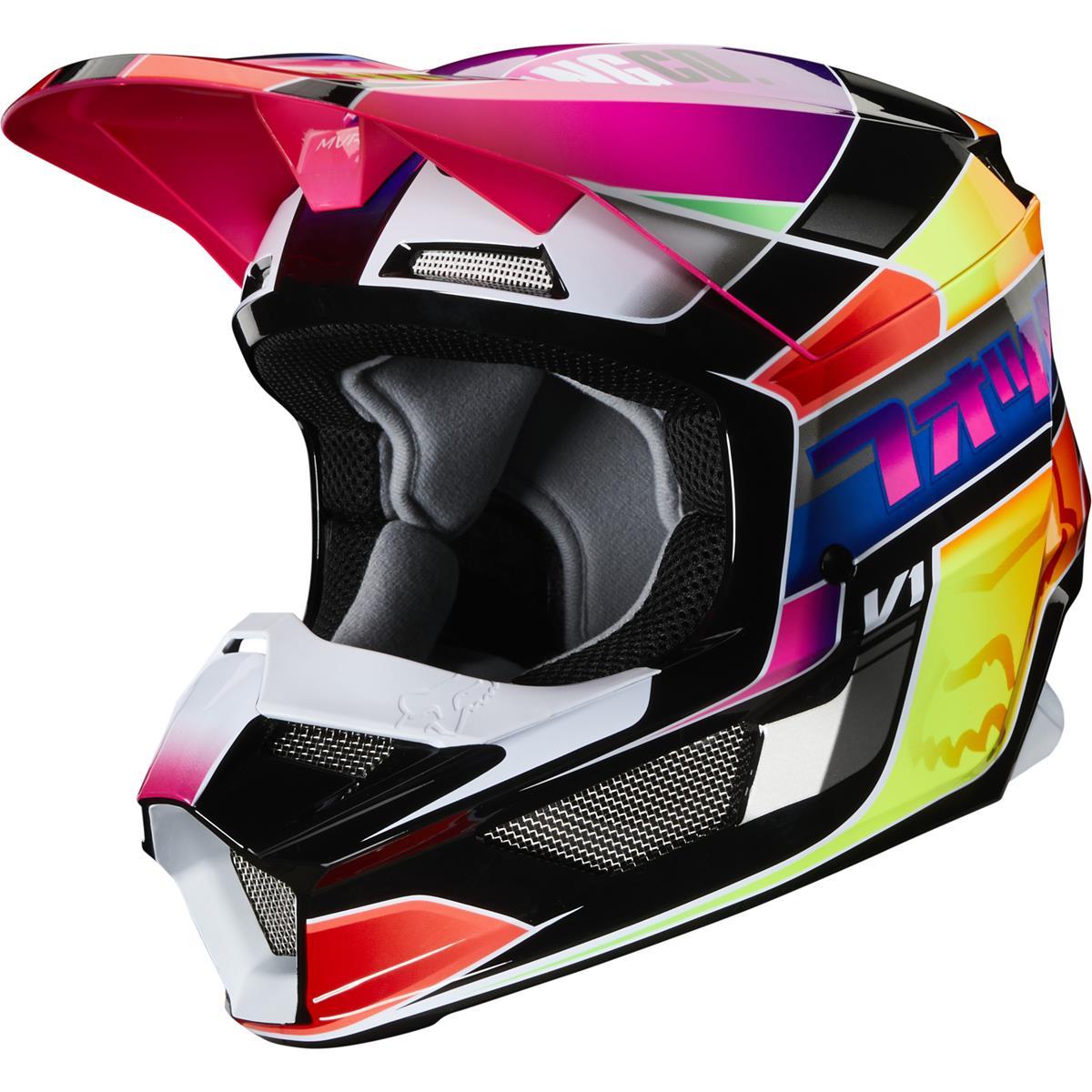 Fox Helm V1 YORR - Mehrfarbig