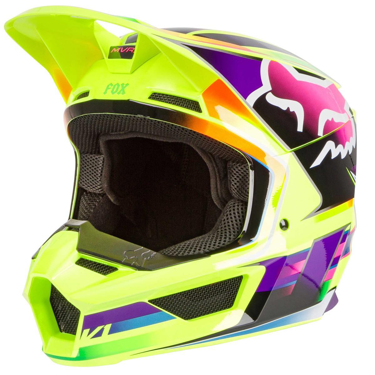 Fox Mx Helmet V1 Gama Yellow Maciag Offroad