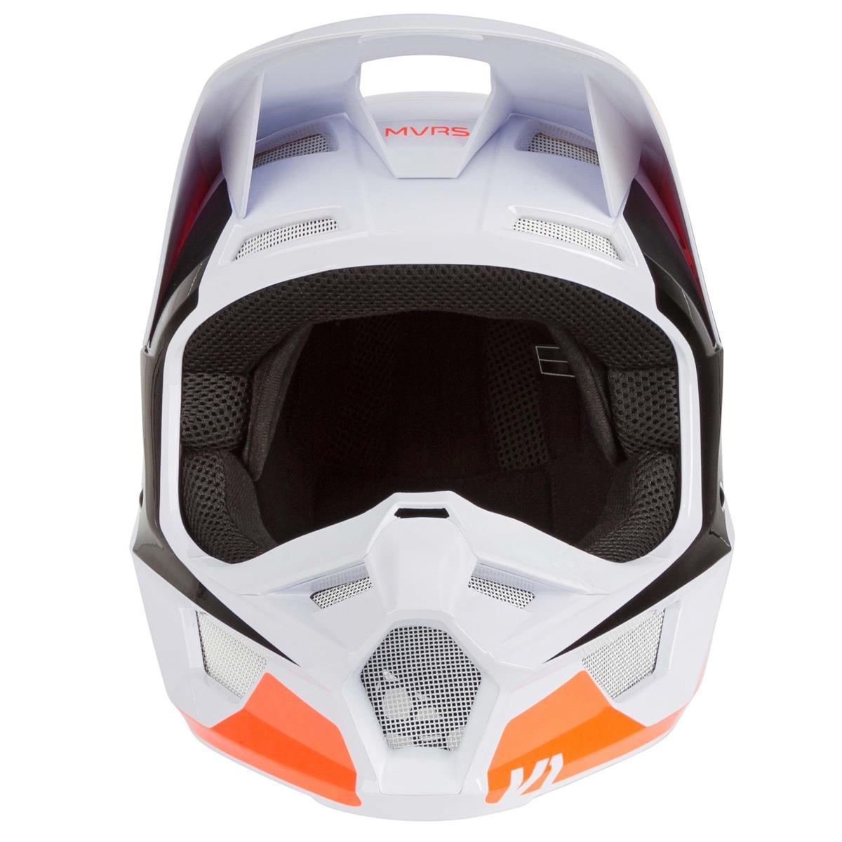 2020 Fox Racing V1 Prix Helmet-Flo Orange-XS