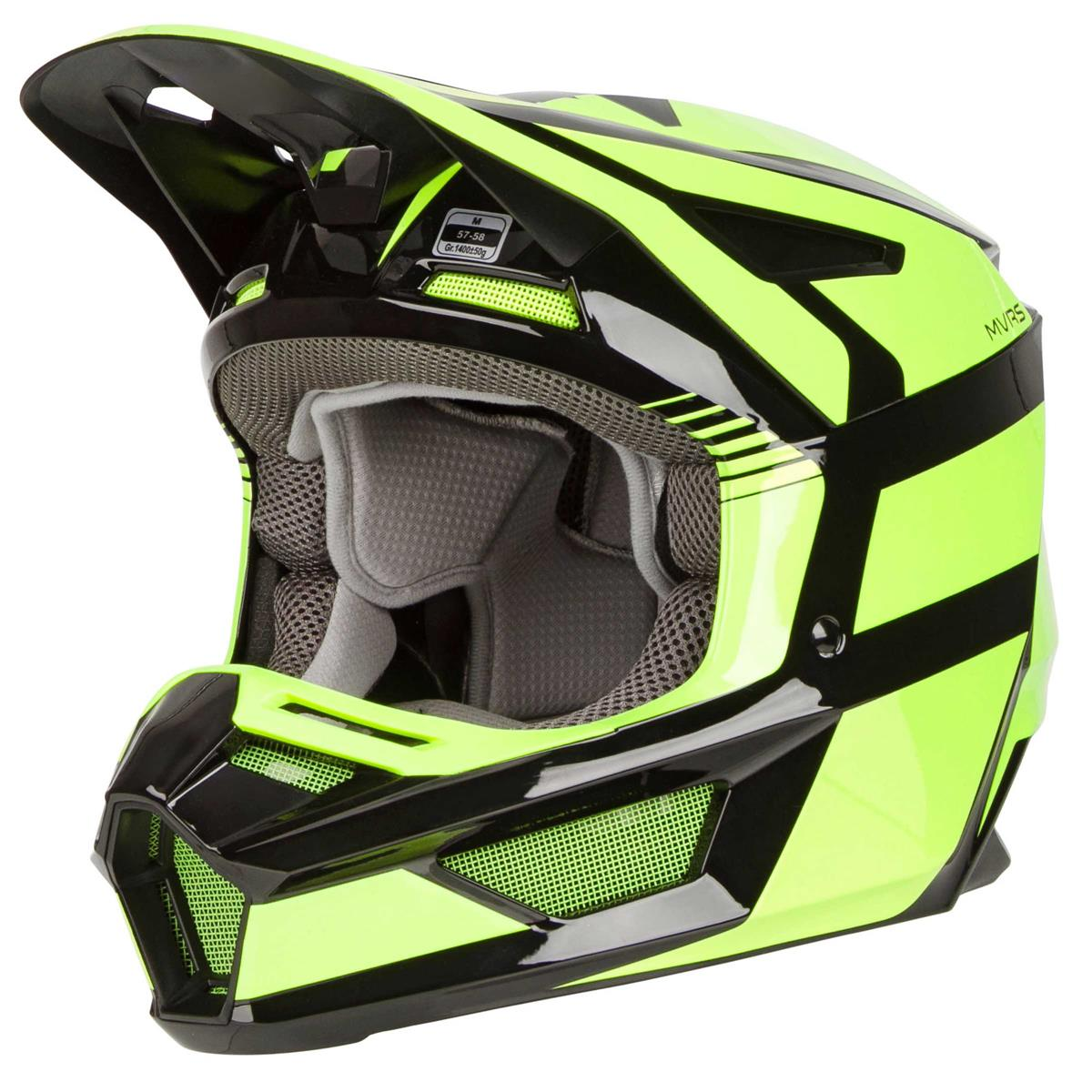 Fox Mx Helmet V2 Hayl Flo Yellow Maciag Offroad