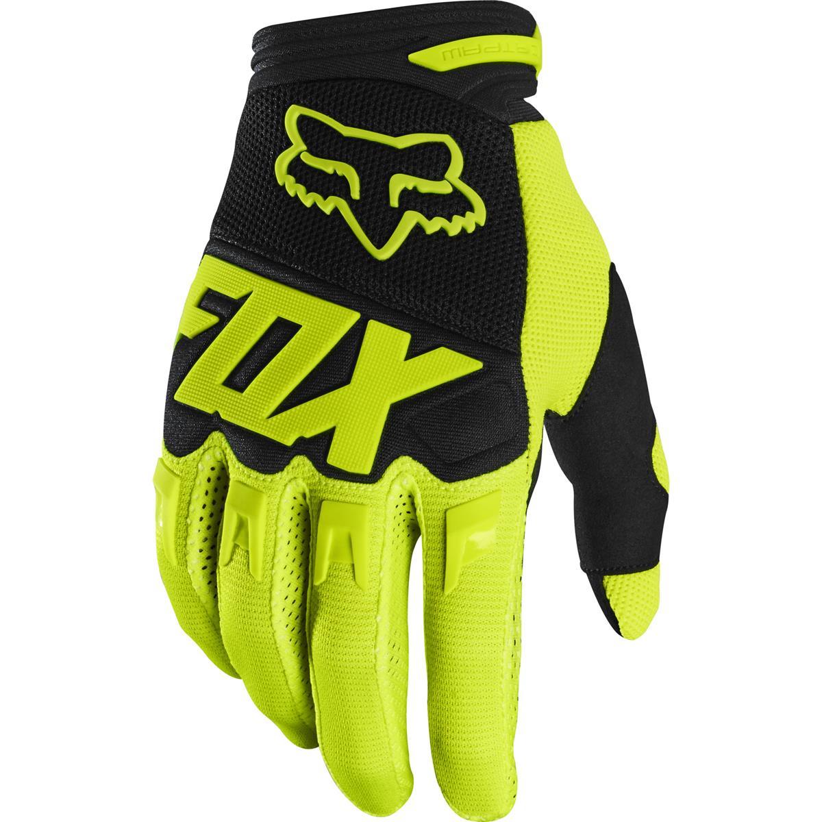Fox Handschuhe Dirtpaw Race - Flow Yellow