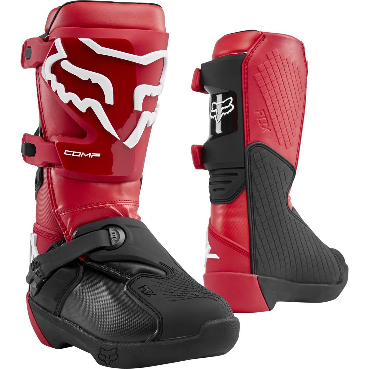 Boots Mx Fox Comp Flame Kids Red 1JlFcK