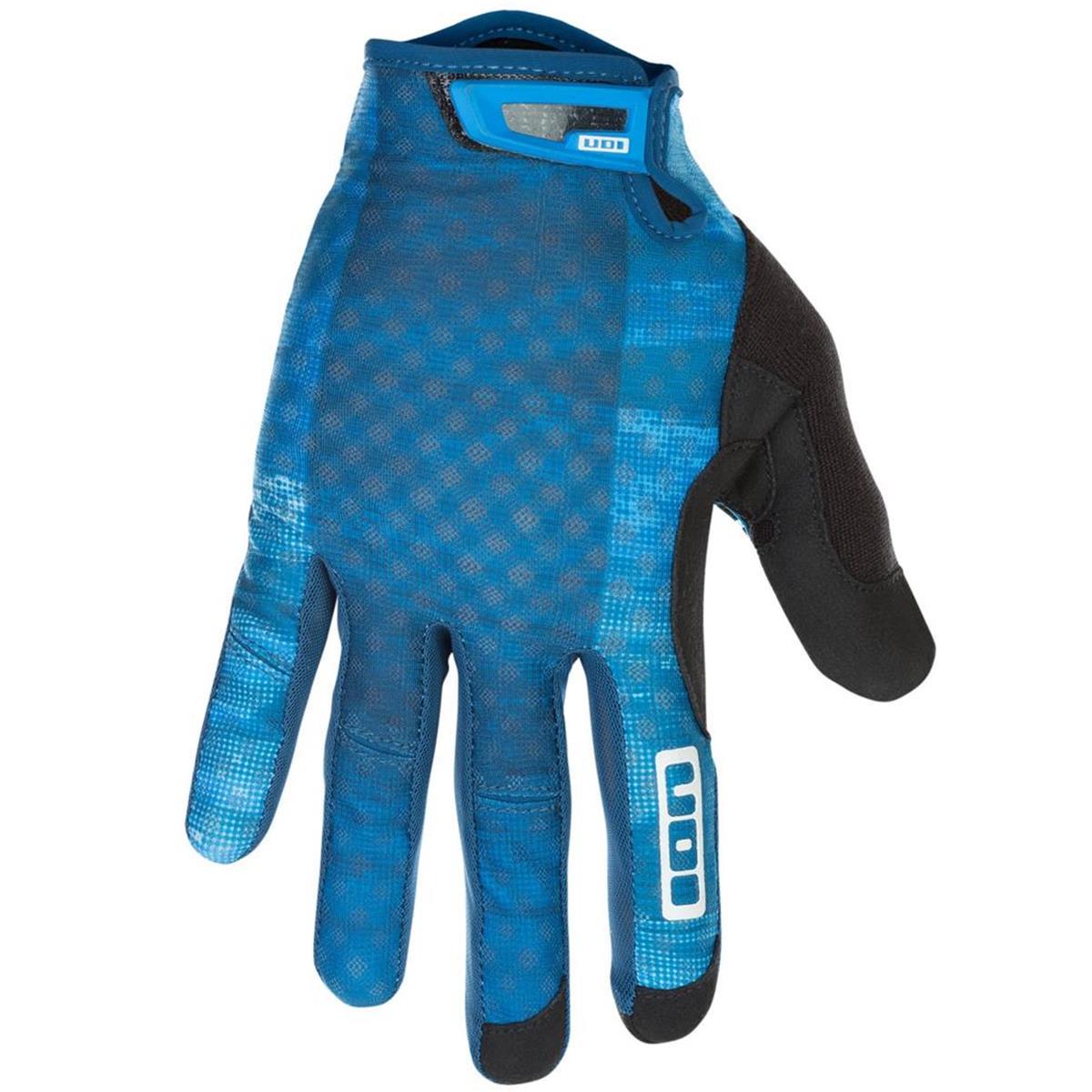 ION Bike-Handschuhe Traze Ocean Blue