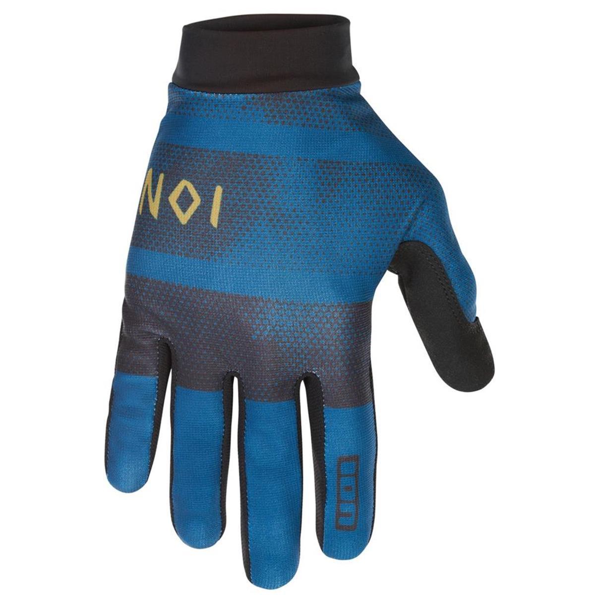 ION Bike-Handschuhe Scrub Ocean Blue