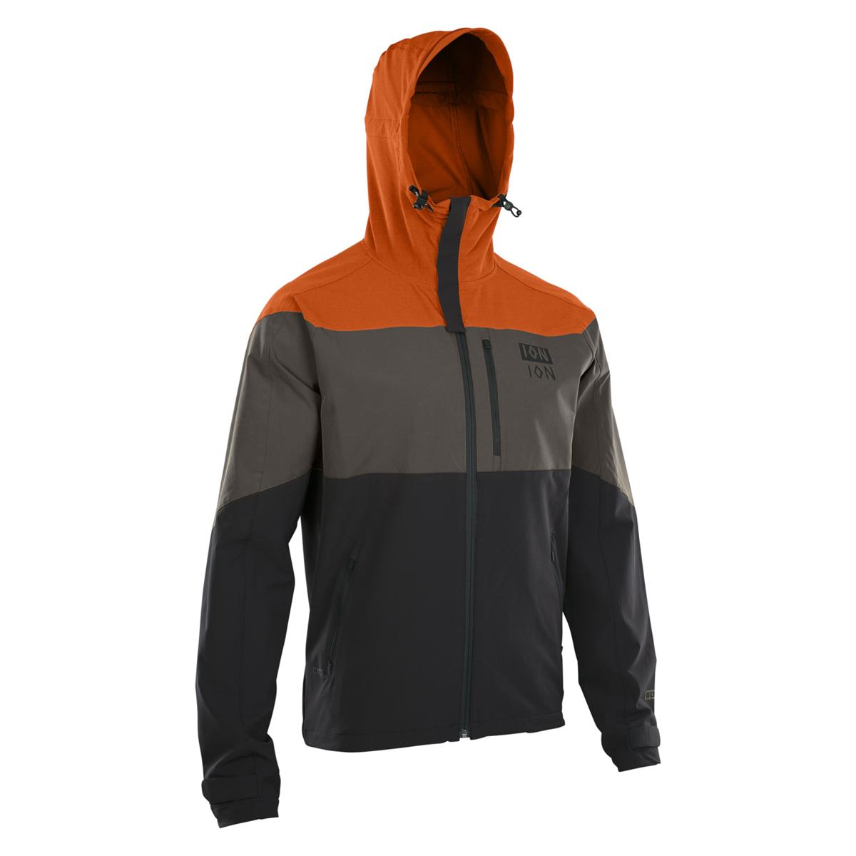 ION Softshell-Jacke Shelter Riot-Orange