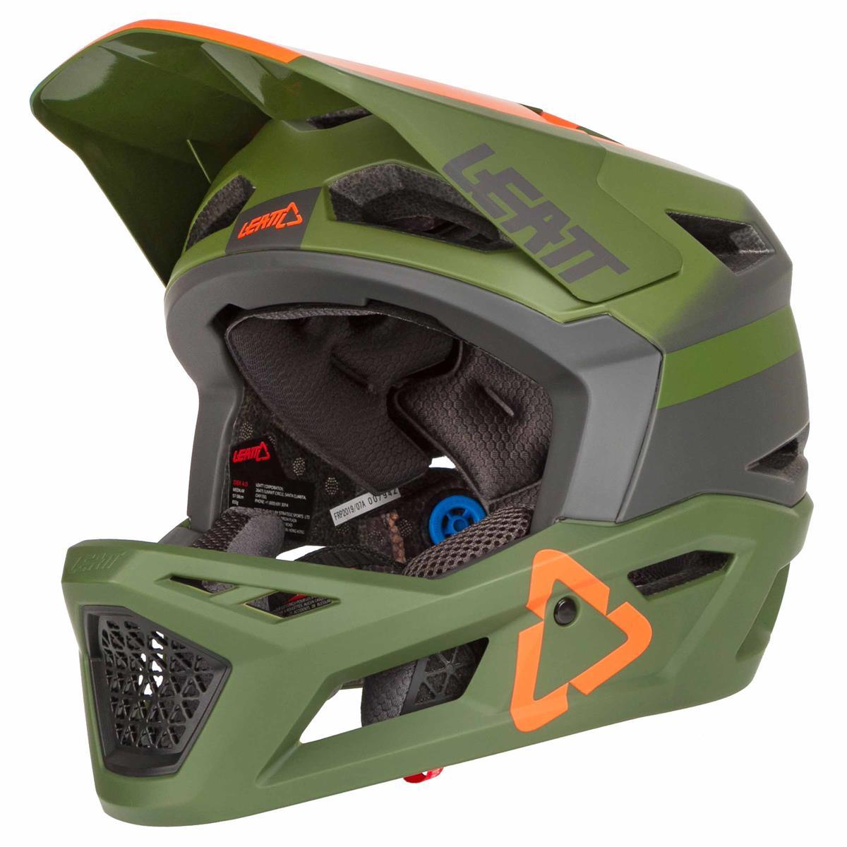 Leatt DBX 4.0 V20.1 Forest Helmet