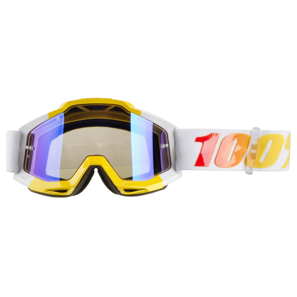 100/% Accuri Adult Off-Road Motorcycle Goggles Astra//Clear Lens//One Size