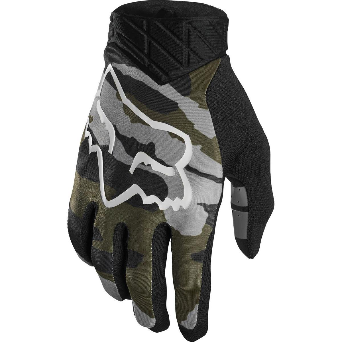 FOX MTB-Handschuhe Flexair Camo Gr/ün Camo