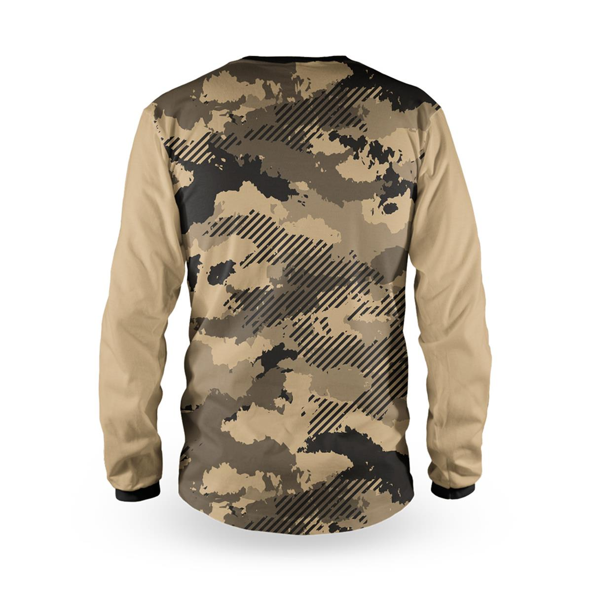 LOOSE RIDER ADULT MTB JERSEY VINK CAMO SLATE AM FR DH JERSEY