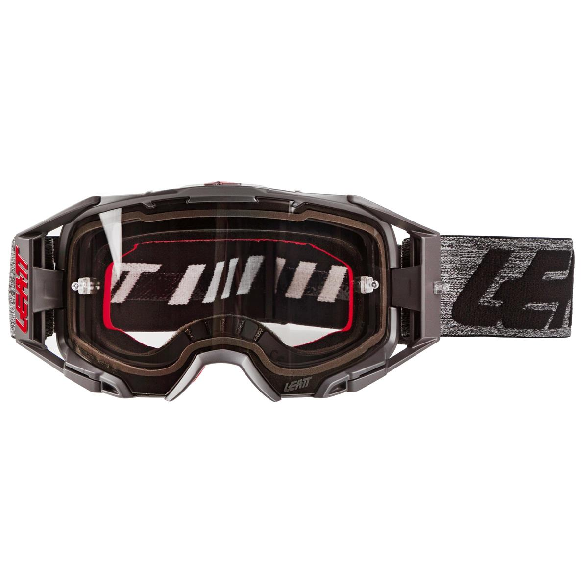 Details about  /Leatt Velocity 6.5 2019 MX Offroad Goggles Brushed//Gray w//Light Gray Lens