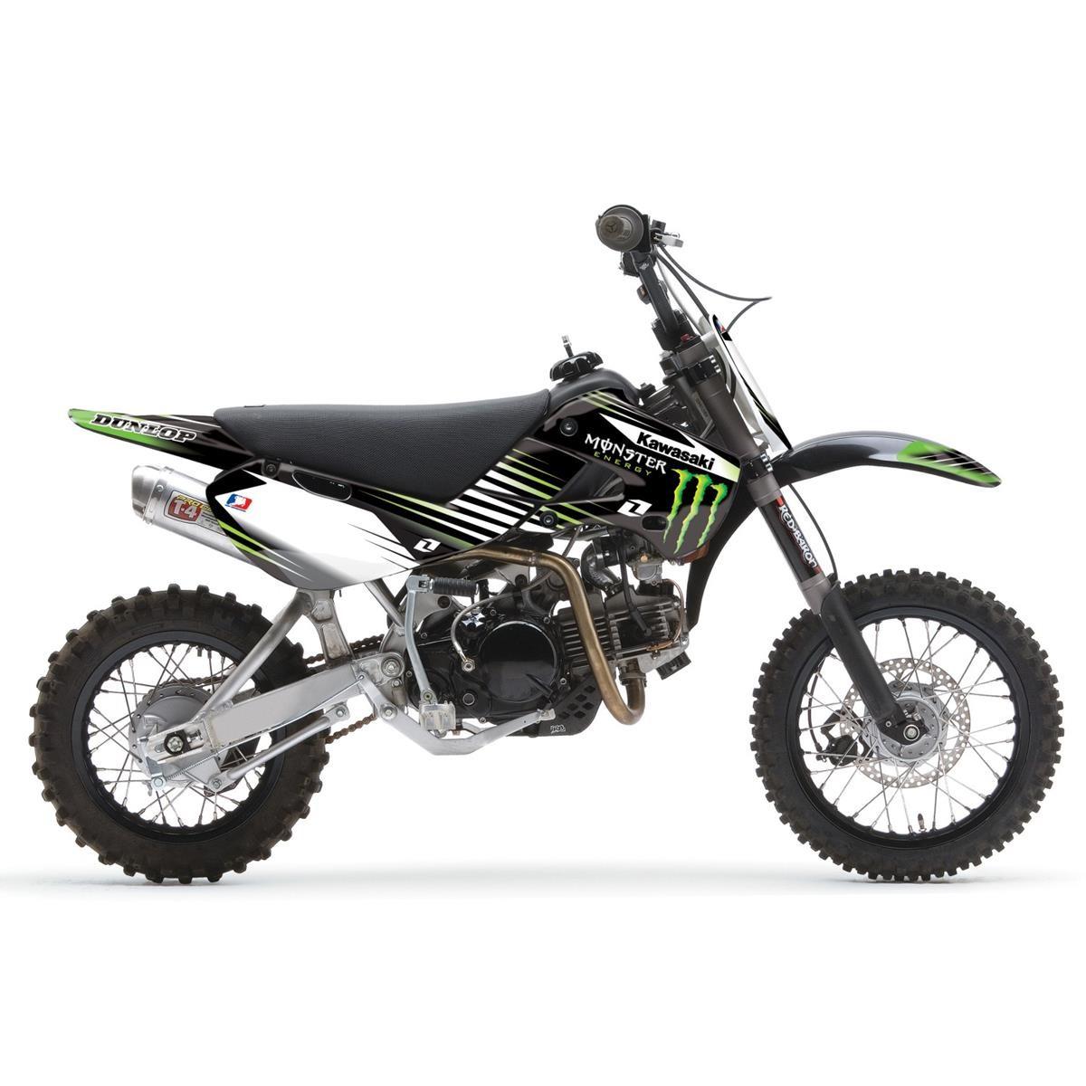 kawasaki kinder motocross motorrad bild idee. Black Bedroom Furniture Sets. Home Design Ideas