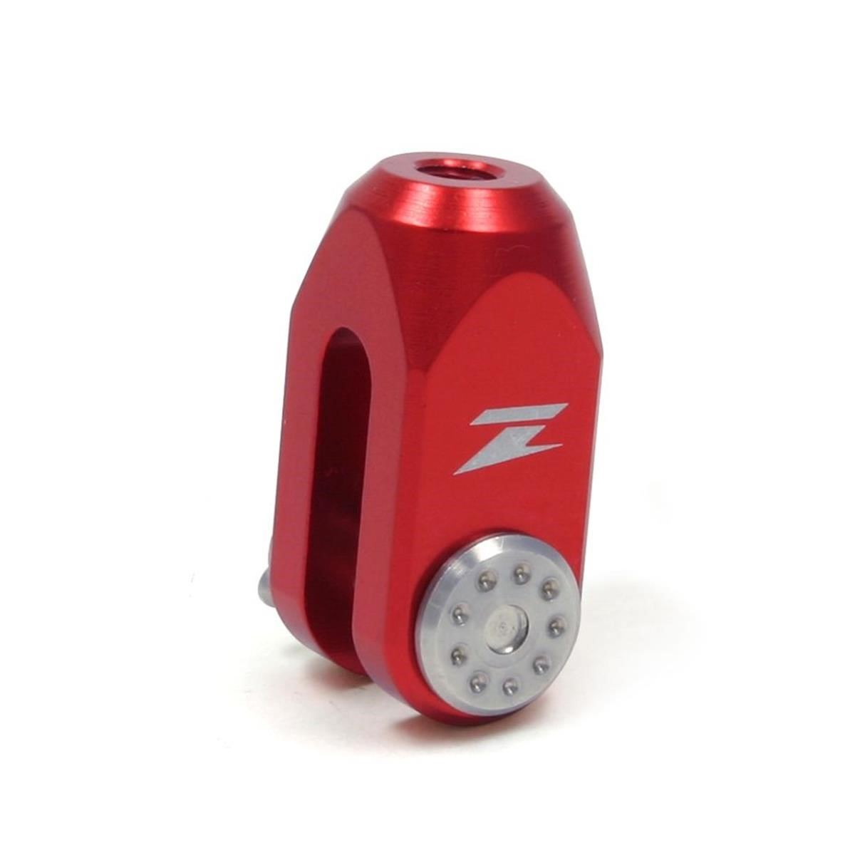 Zeta Hinterradbremsen-Einsteller  Rot, Yamaha YZ 80/85 94-17