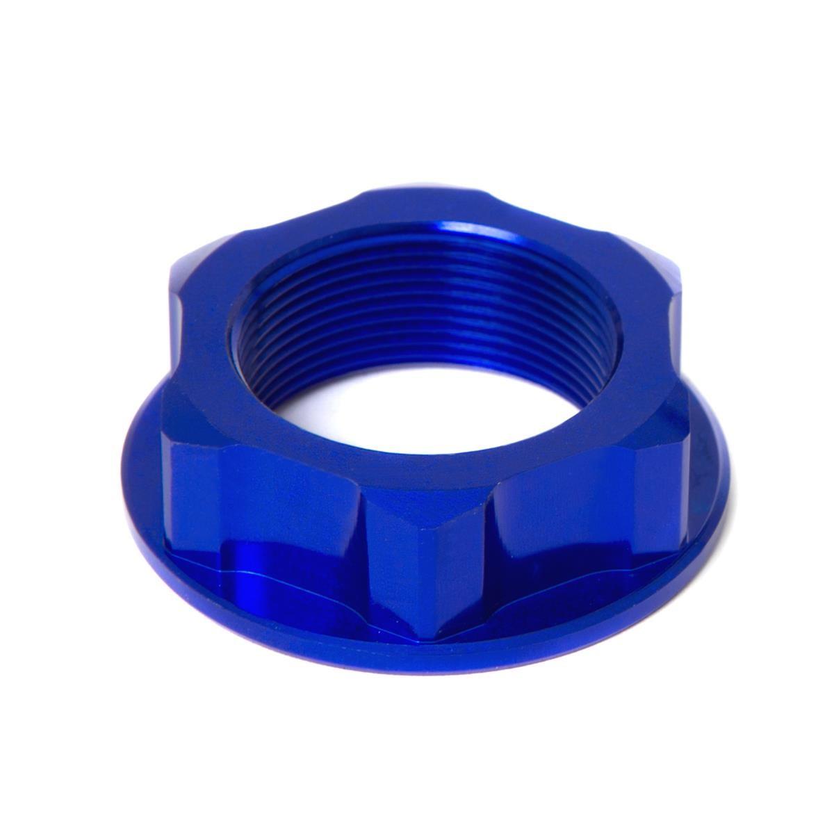 Zeta Steering Stem Nut Blue Kawasaki Kx 125250 Kxf 250450