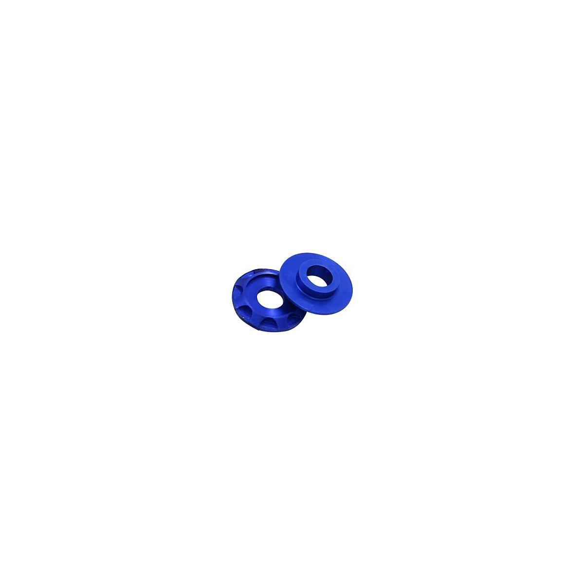 DRC Aluminium-Scheiben Blau, 4er Pack