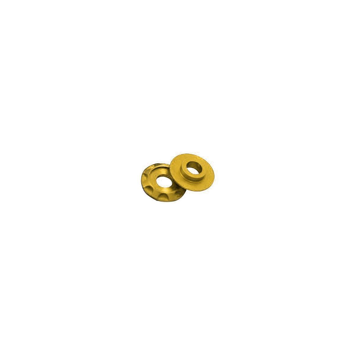 DRC Aluminium-Scheiben Gold, 4er Pack