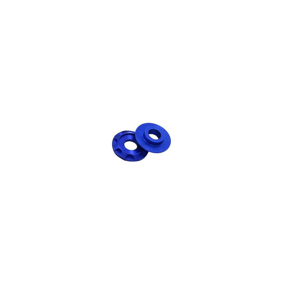 DRC Aluminium-Scheiben Typ02, Blau, 4er Pack