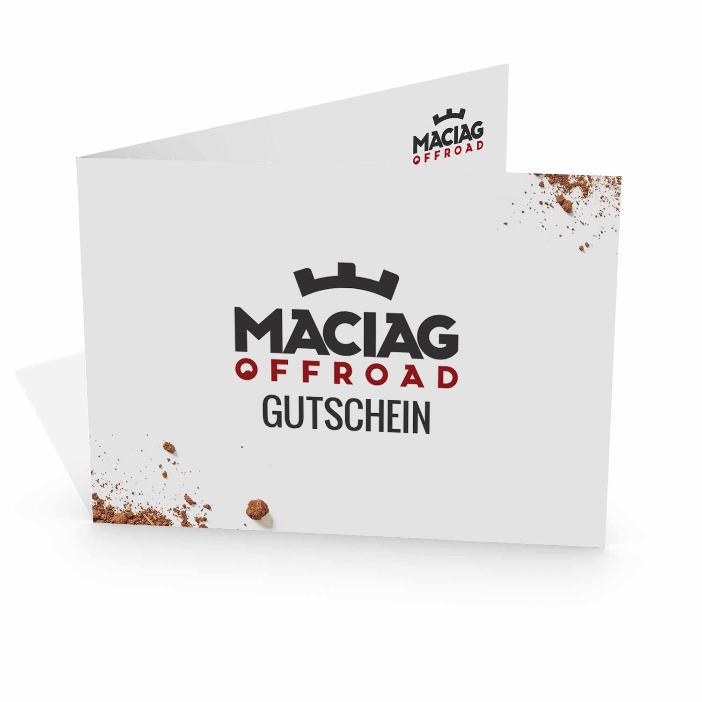 Maciag Offroad Gutschein Logo im Wert von 100.00 Euro
