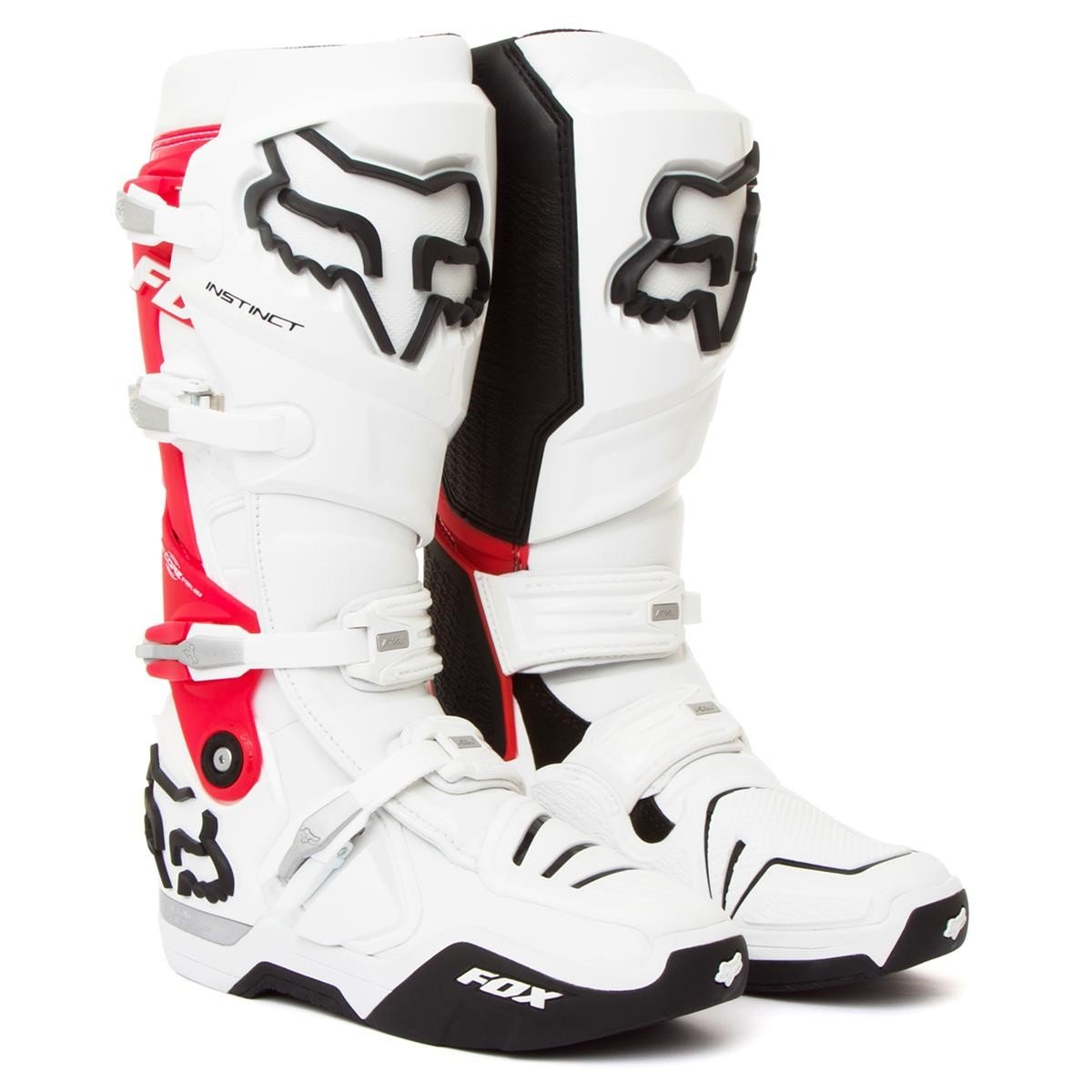 fox motocross stiefel instinct white red 2012 maciag offroad. Black Bedroom Furniture Sets. Home Design Ideas