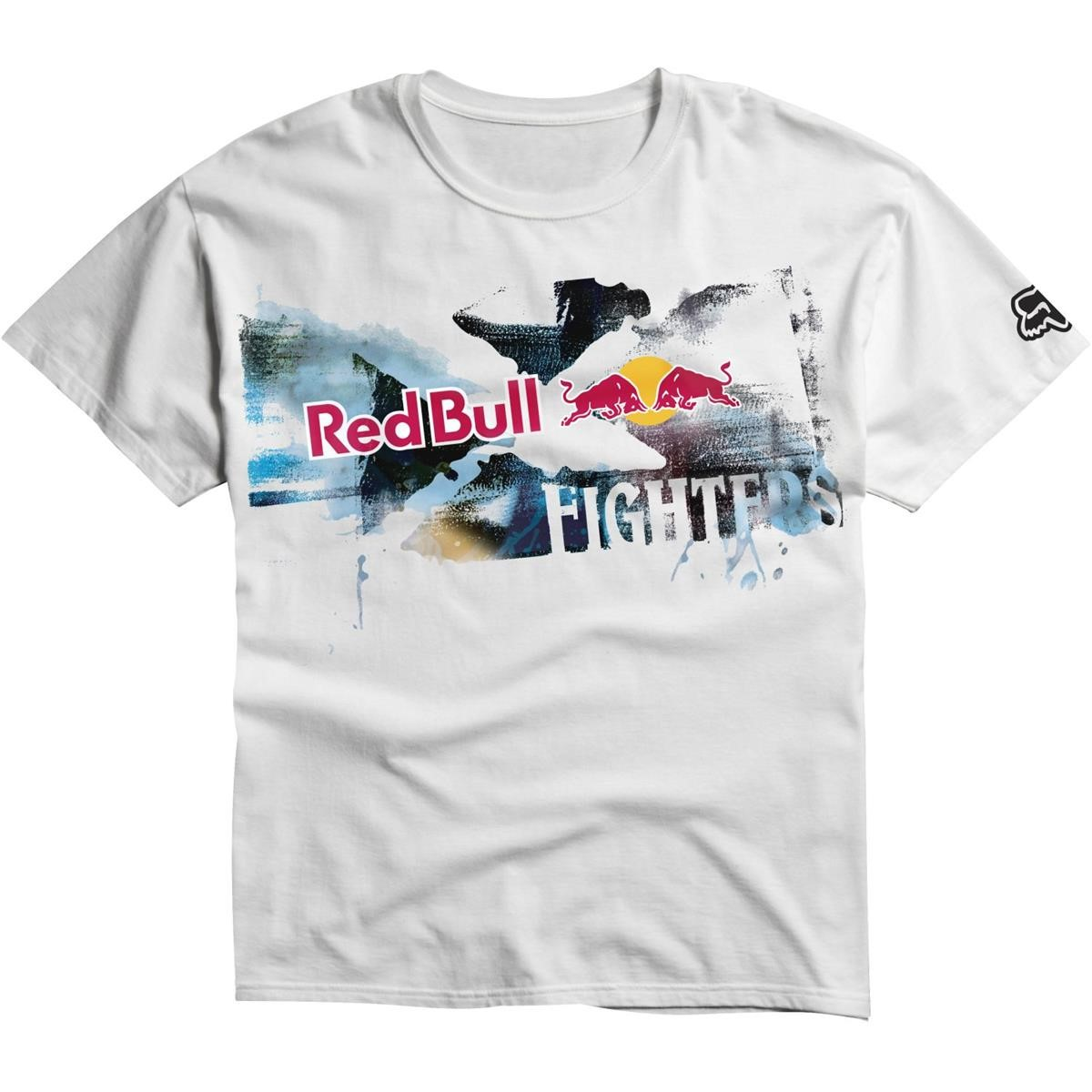 fox kids red bull x fighters t shirt neg space white maciag offroad. Black Bedroom Furniture Sets. Home Design Ideas