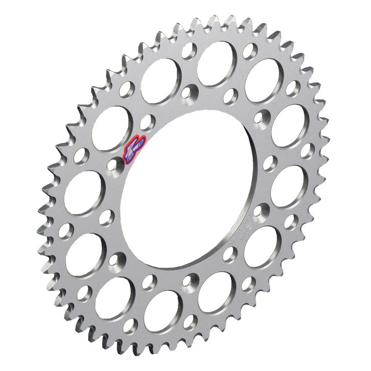 Renthal Rear Sprocket  Honda CR 125/250/500, CRF 250/450, 520 Pitch, Aluminium, 47-51 Teeth