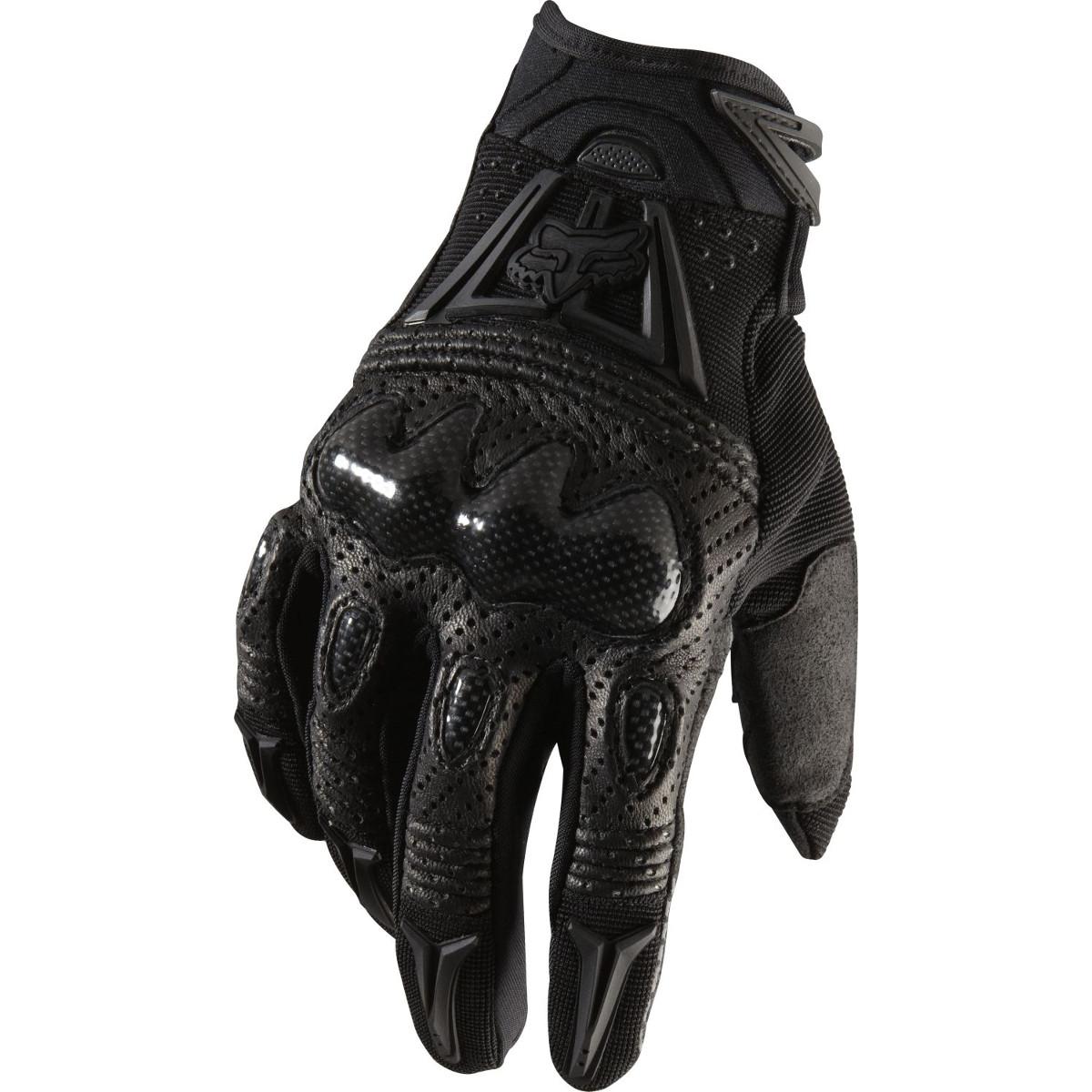 Fox Handschuhe Bomber Schwarz/Schwarz