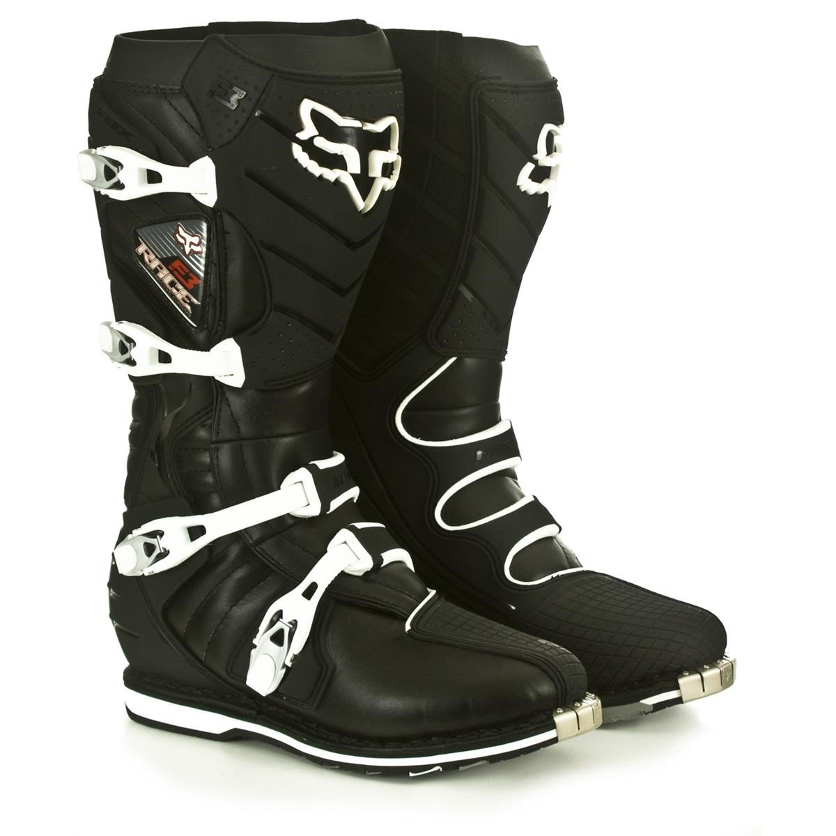 fox motocross stiefel f3 race black 2013 maciag offroad. Black Bedroom Furniture Sets. Home Design Ideas