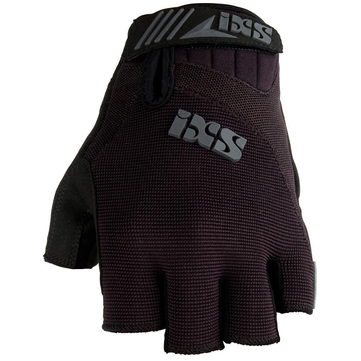 IXS Kurzfinger-Handschuhe XC-X1, L, Schwarz