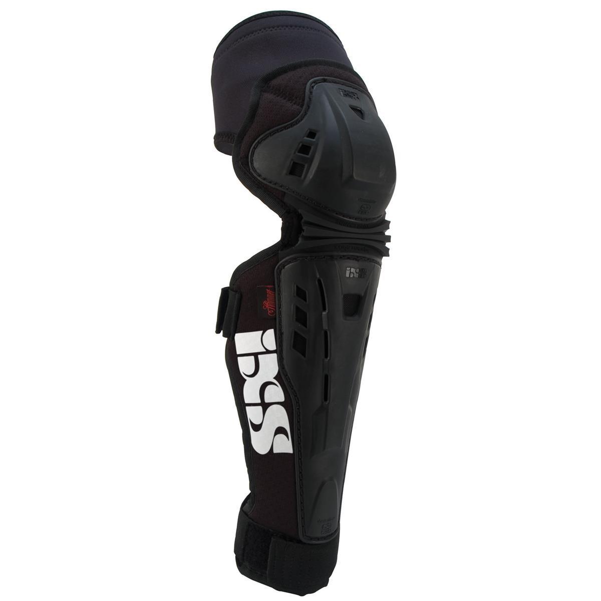 IXS Knie-/Schienbeinschützer Assault Schwarz
