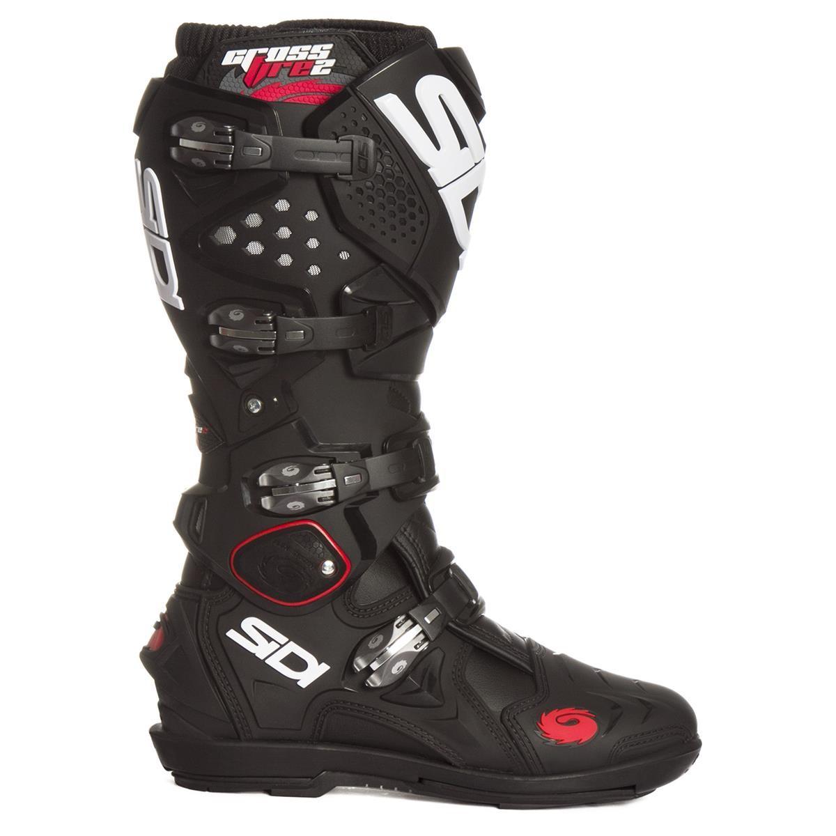 Srs Stiefel Sidi Motocross 2 Schwarz Crossfire wZikXTlOPu