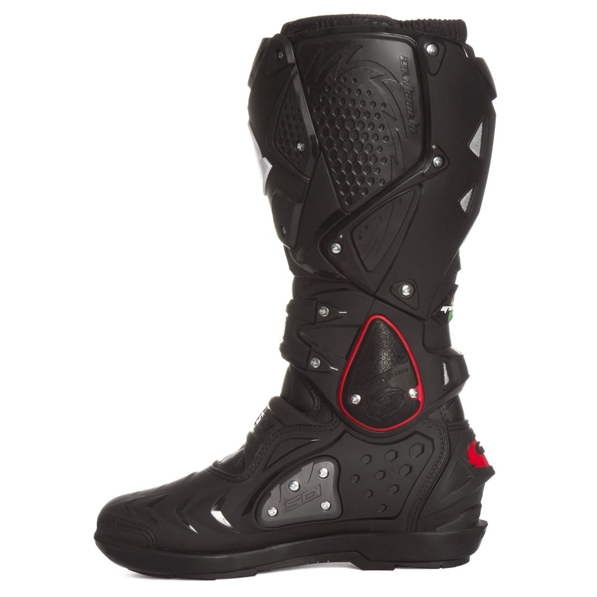 sidi mx boots crossfire 2 srs black 2019 maciag offroad. Black Bedroom Furniture Sets. Home Design Ideas