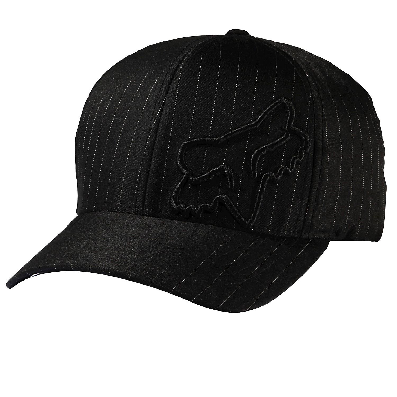 Fox Cap Flex 45 Black Pinstripe