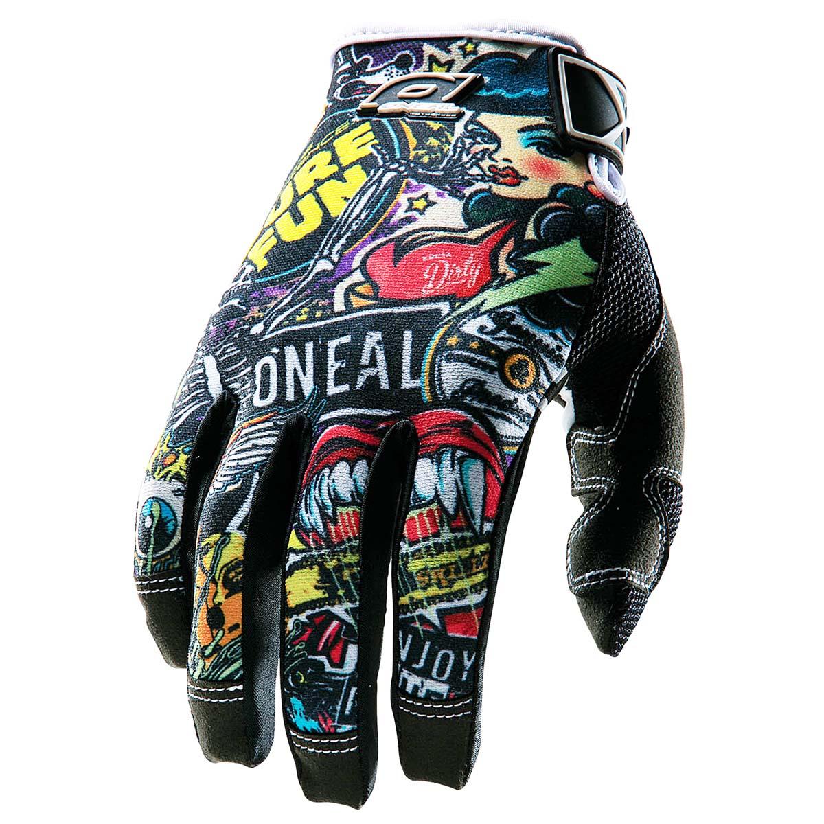 O'Neal Handschuhe Jump Crank, L, Schwarz