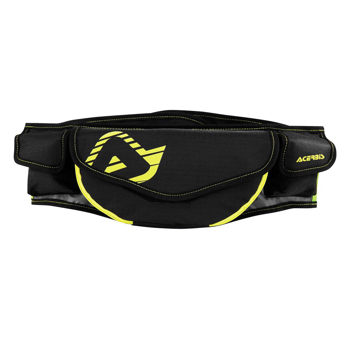 Acerbis Waist Bag Ram Black/Fluo Yellow