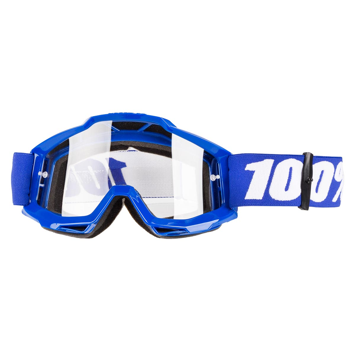 100% Crossbrille The Accuri Reflex Blue - Klar Anti-Fog
