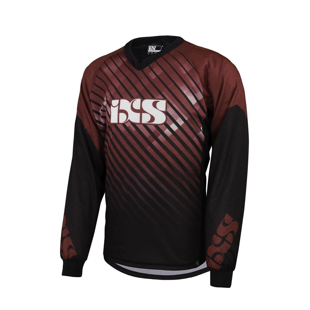 IXS Downhill-Jersey Temp, L, Rot