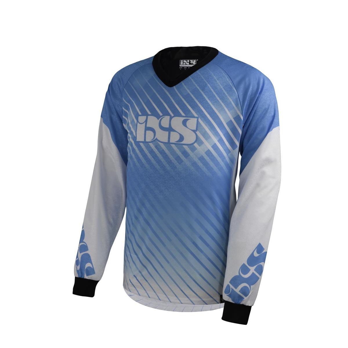 IXS Downhill-Jersey Temp, L, Blau
