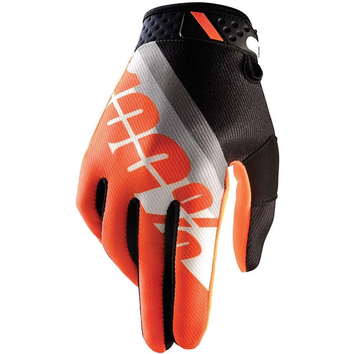 100% Bike-Handschuhe Ridefit Slant Orange