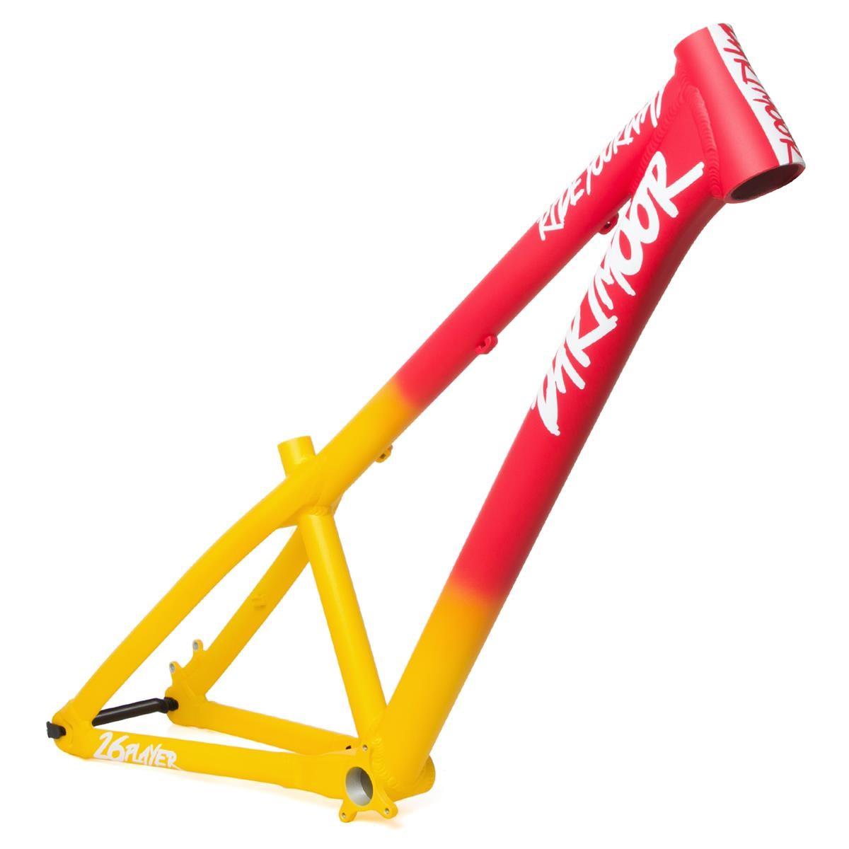 Dartmoor MTB-Rahmen Two6Player Aluminium, Miami Vice - Red/Yellow ...
