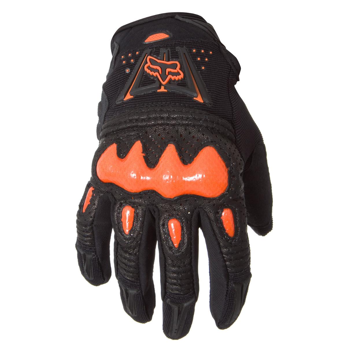 Fox Handschuhe Bomber Schwarz/Orange