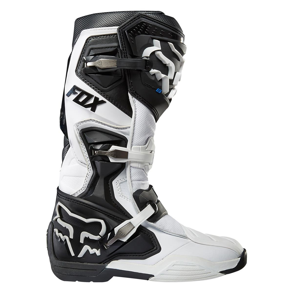 fox motocross stiefel comp 8 white 2015 maciag offroad. Black Bedroom Furniture Sets. Home Design Ideas