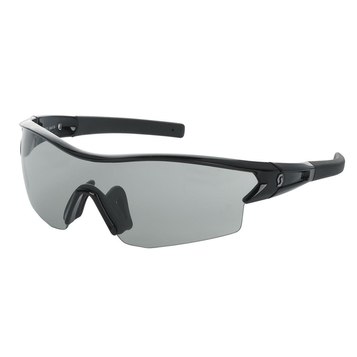 Scott Leap Sonnenbrille black glossy grey + clear LmpQRyd81s