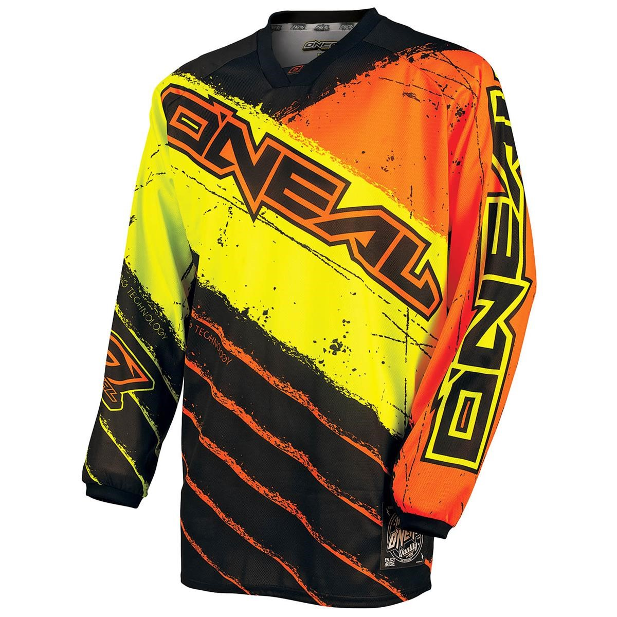 O´Neal Jersey Mayhem Revolt Schwarz/Orange