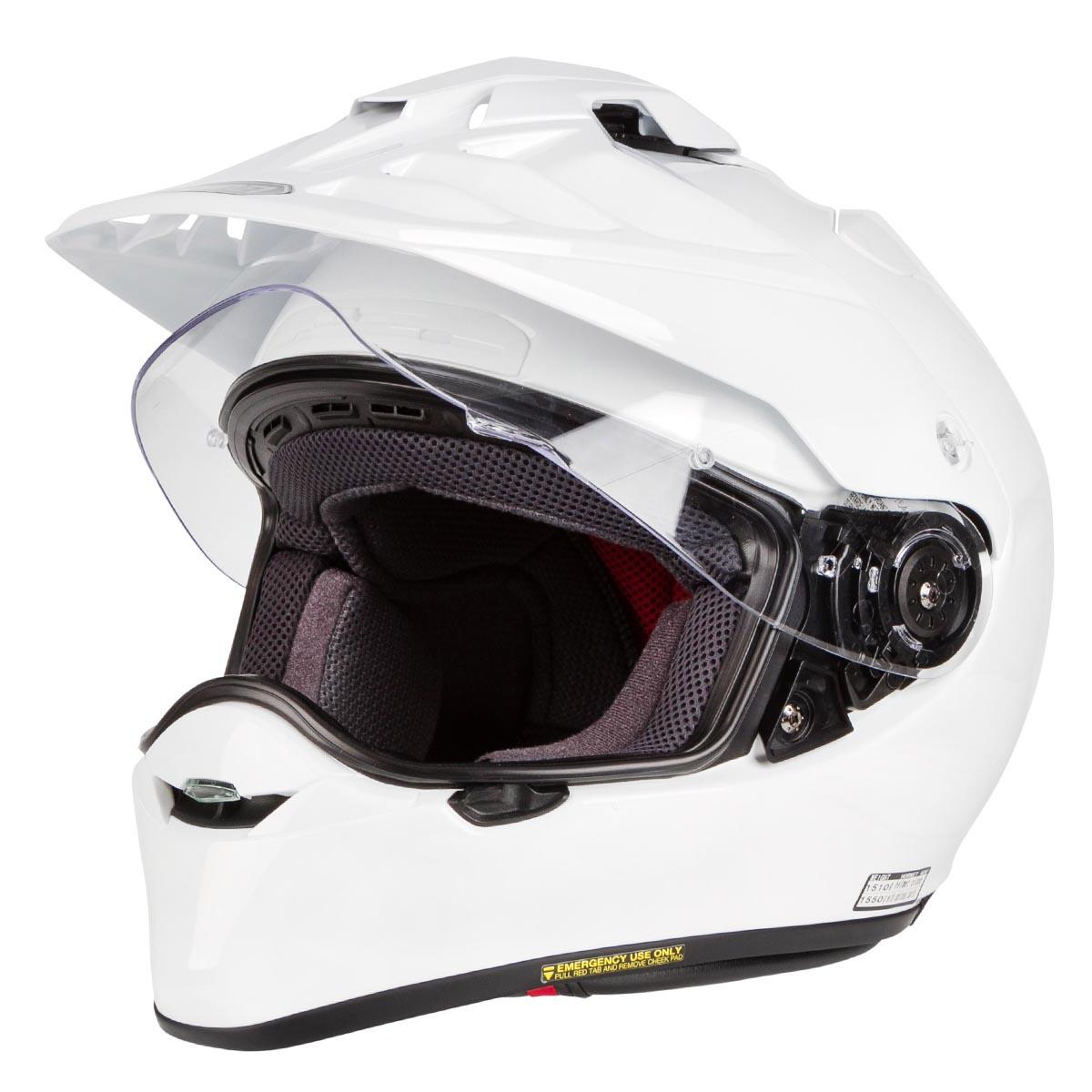shoei helmet hornet adv white 2018 maciag offroad. Black Bedroom Furniture Sets. Home Design Ideas