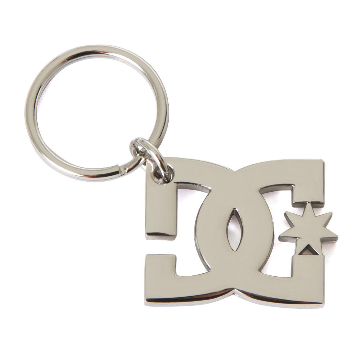 DC Schlüsselanhänger Star Keychain Silber