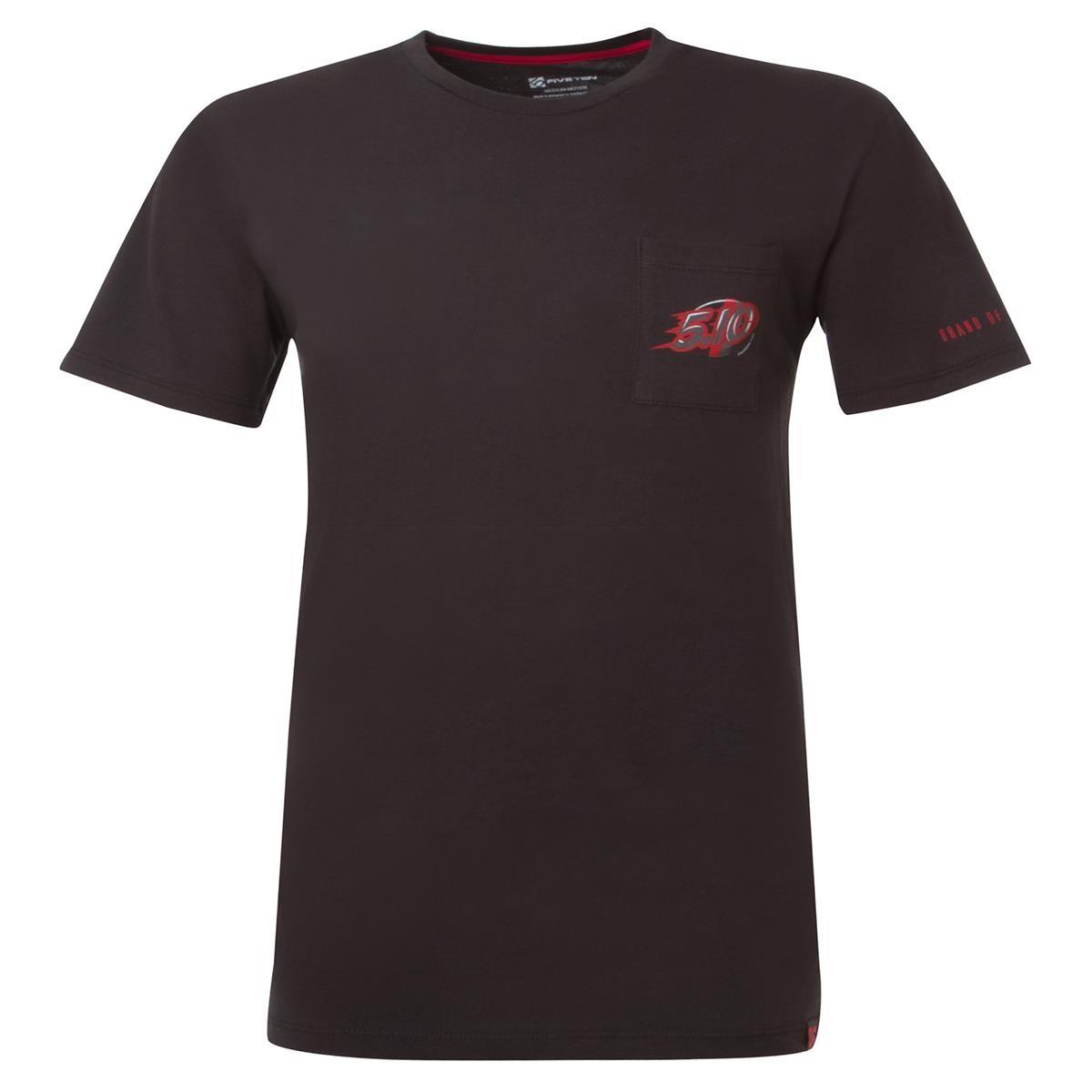 five ten t shirt speedy dot black red maciag offroad