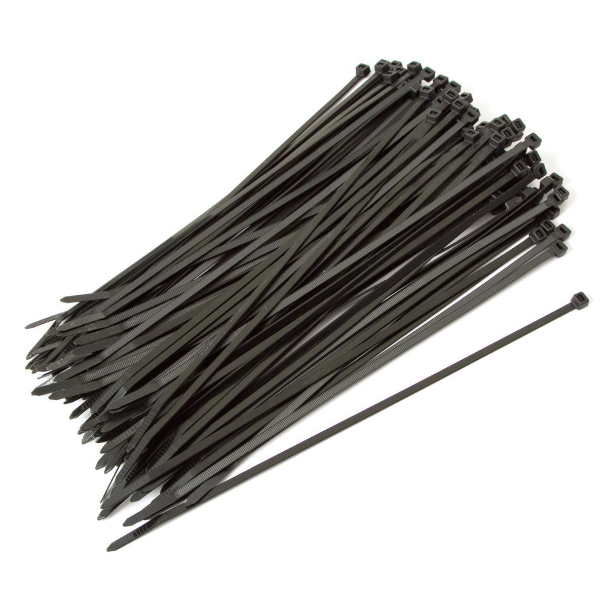 Zanbaline Kabelbinder  300 x 4.8 mm, 100 Stück, schwarz