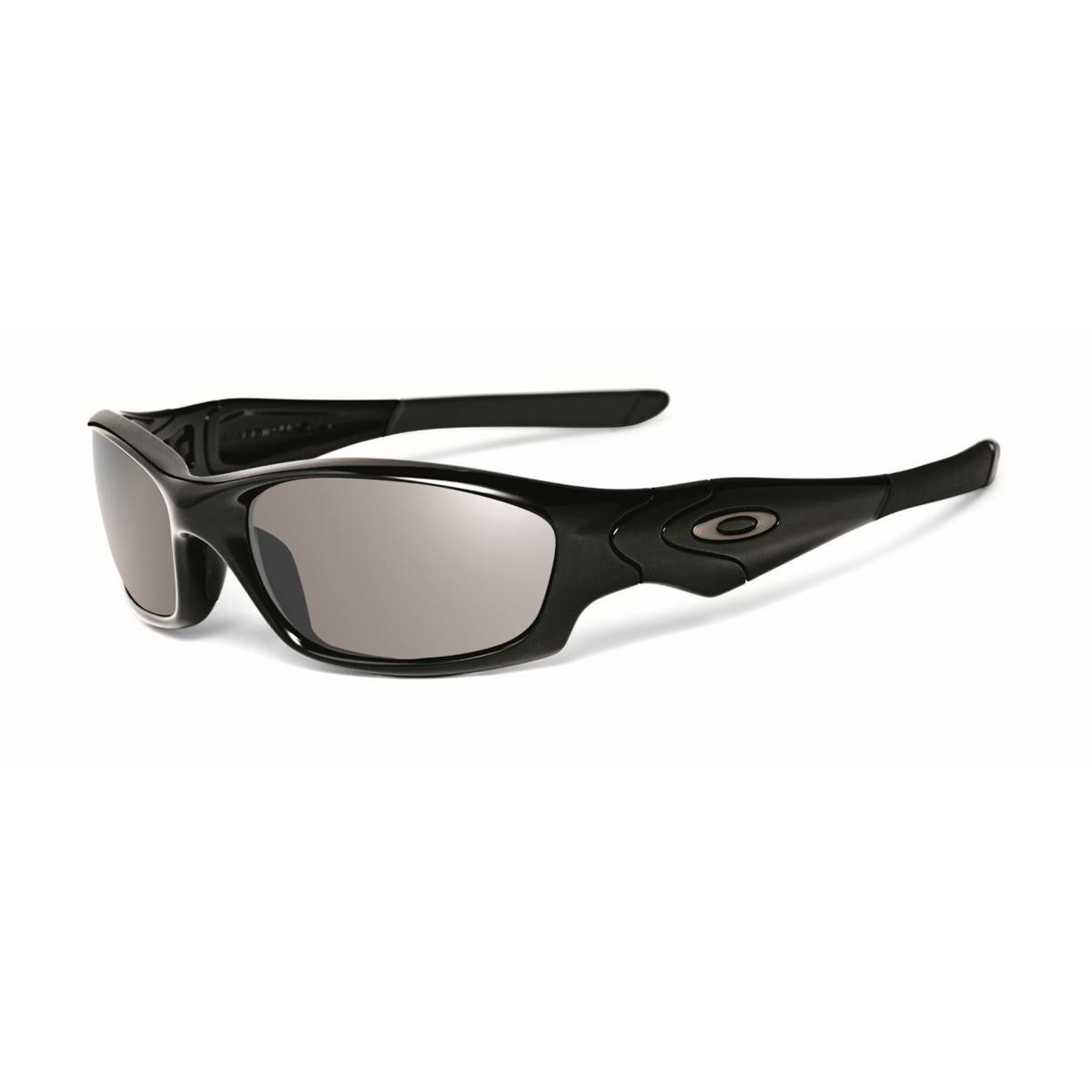 oakley sonnenbrille  oakley sonnenbrille straight jacket polished black/black iridium